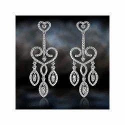 Artificial Diamond Studded Earrings