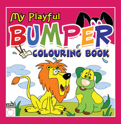 My Playful Bumper Coloring Book - Pink