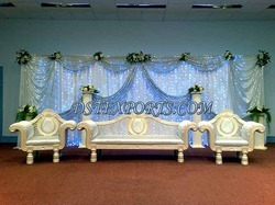Asian Wedding Pearl Blue Furniture
