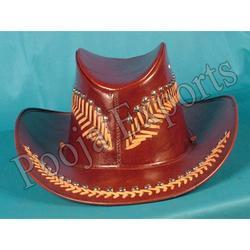 Red Leather Hat ( Product Code: 1535-P450)