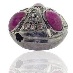designer ruby beads