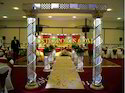 Wedding Carved Fiber Crystal Welcome Gate