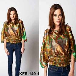 Stylish Satin Top For Ladies