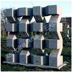 Contemporary Stone  Sculpture