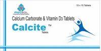 Calcite Calcium & Vit D Combination Tablet