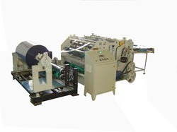 Ajya Roll To Sheet Cutting Machine