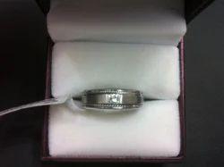 Diamond Wedding Ring for Gents