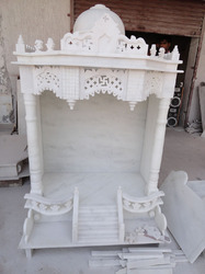Exquisite Carved Temple from Marble