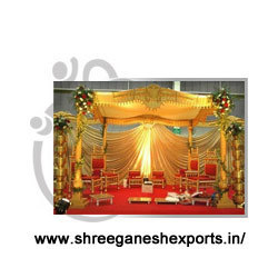 Carved Mandap Pillars (Product Code No :-MSP - 0103)