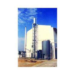 Barometric Spray for Rendering Plant