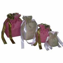 Jute Drawstring Bag (P 328)