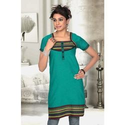 Jacquard Kurtis For Women