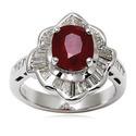 Natural Indian Ruby Ring