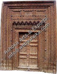 Antique Wooden Carving Doors