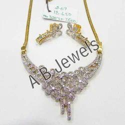 Diamond Chain Necklace Set