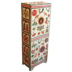Mixed Painted Cabinet
