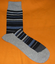 AOV /MN/ST/34 Men Stripe Socks