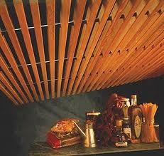 wooden ceiling - Ceiling Types