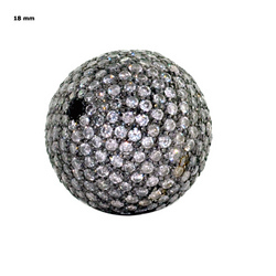 Pave Diamond Balls