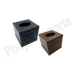 Leather Tissue Paper Holder (Product Code: TBC-091)