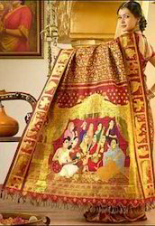 Kanchipuram Reception silk saree