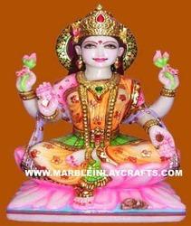 Laxmi Statue Sitting on Lotus