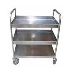 Stainless Steel Material Transport Trolleys