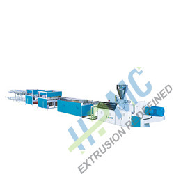 pvc conduit pipe extruder four pipes