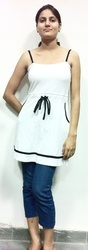 Black And White Girls Garments