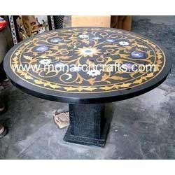 Marble Inlay Mosaic Table