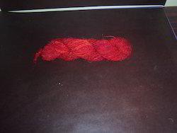 Plain Colored Sari Silk Yarns