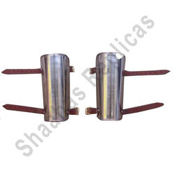 Steel and Leather Bracers
