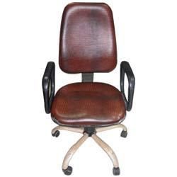 Industrial Leather Chair