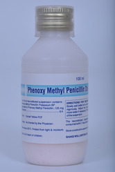 Phenoxy Methyl Penicillin Dry Syrup