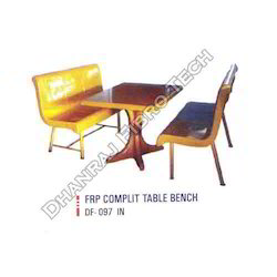 FRP Complete Table Bench