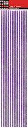 Stripes Purple Glitter