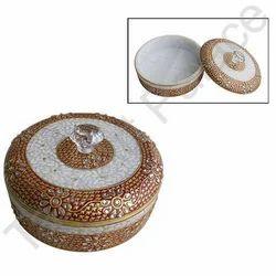 Designer Marble Jewelry Box