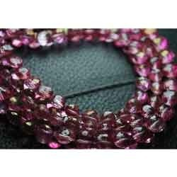 Micro Faceted- Pink Mystic Topaz Faceted Onion Briolettes