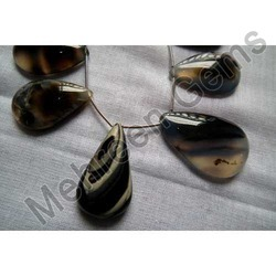 Smooth Black Onyx Pears