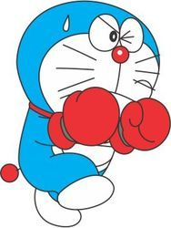 Doraemon Colored Tattoo