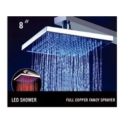 Color LED Overhead Showers
