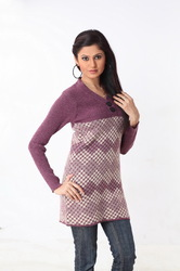 Ladies long sweater 13