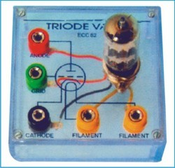 Triode Valve Mounted