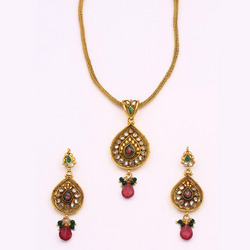Antique Ruby Pendant Sets