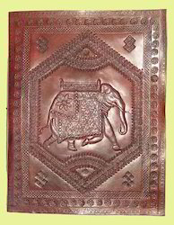 Embossed Leather Refillable Journals