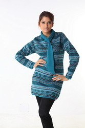 Ladies long sweater 14