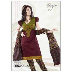 Pure Cotton Printed Salwar Kameez