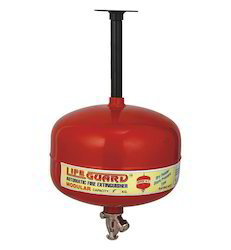 Triggered Fire Extinguisher