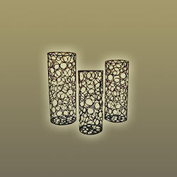 Iron Flower Vases
