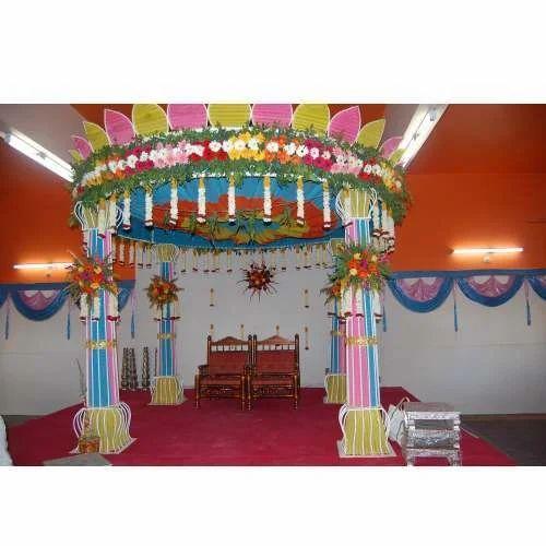 Marriage Decorations Chunnat Tent Pandal Service